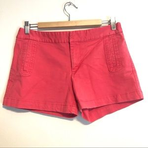 GAP Stretchy Red Shorts Size 6